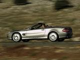 Photos of Mercedes-Benz SL 550 (R230) 2006–08