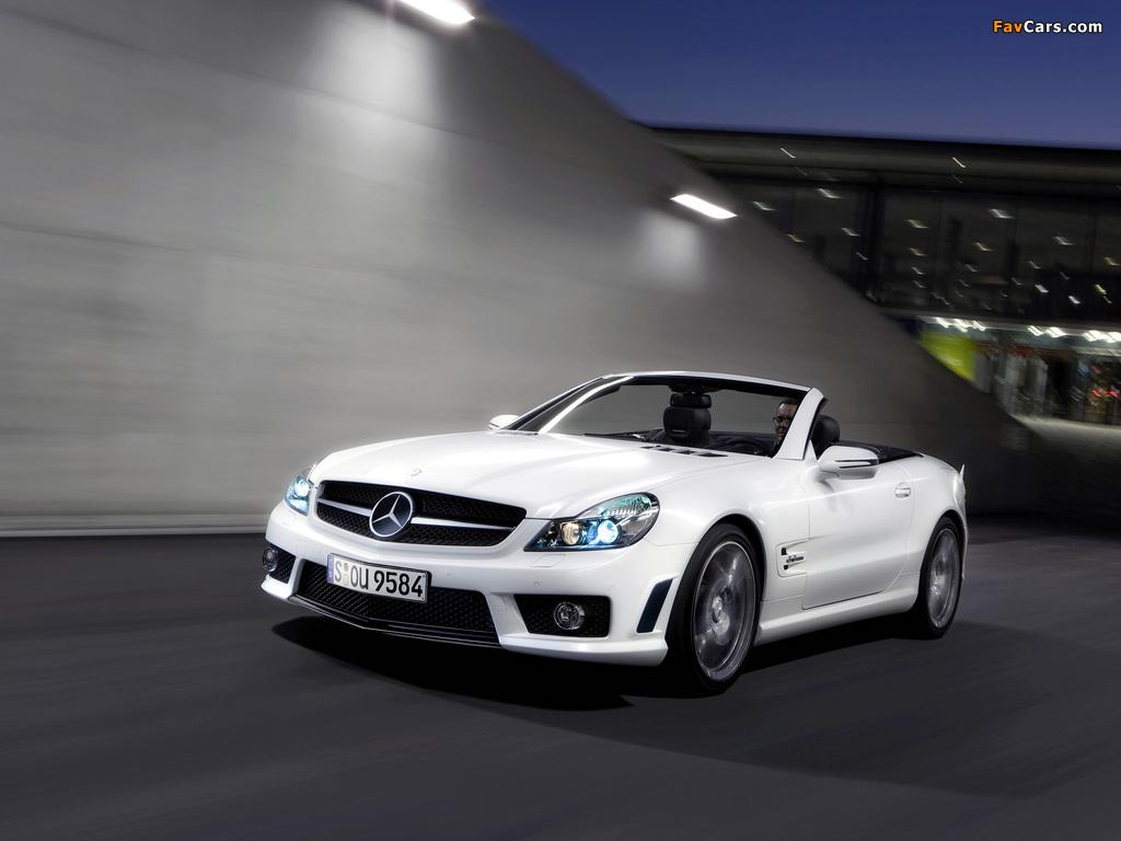 Photos of Mercedes-Benz SL 63 AMG Limited Edition IWC (R230) 2008 (1024 x 768)