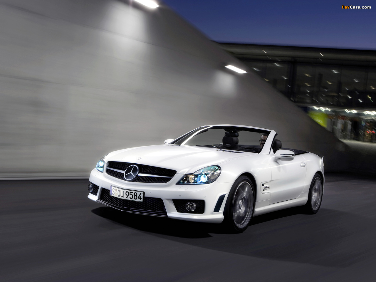 Photos of Mercedes-Benz SL 63 AMG Limited Edition IWC (R230) 2008 (1280 x 960)