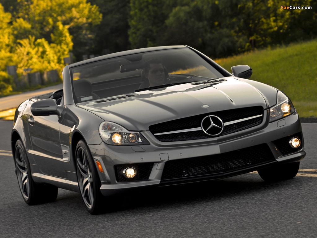 Photos of Mercedes-Benz SL 63 AMG US-spec (R230) 2008–11 (1024 x 768)