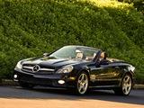 Photos of Mercedes-Benz SL 600 US-spec (R230) 2008–11