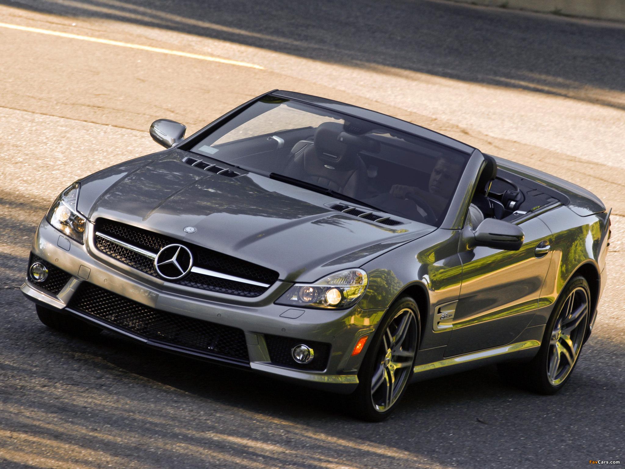 Photos of Mercedes-Benz SL 63 AMG US-spec (R230) 2008–11 (2048 x 1536)