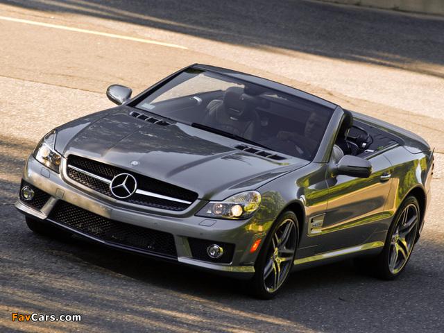 Photos of Mercedes-Benz SL 63 AMG US-spec (R230) 2008–11 (640 x 480)