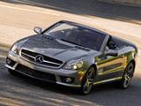 Photos of Mercedes-Benz SL 63 AMG US-spec (R230) 2008–11