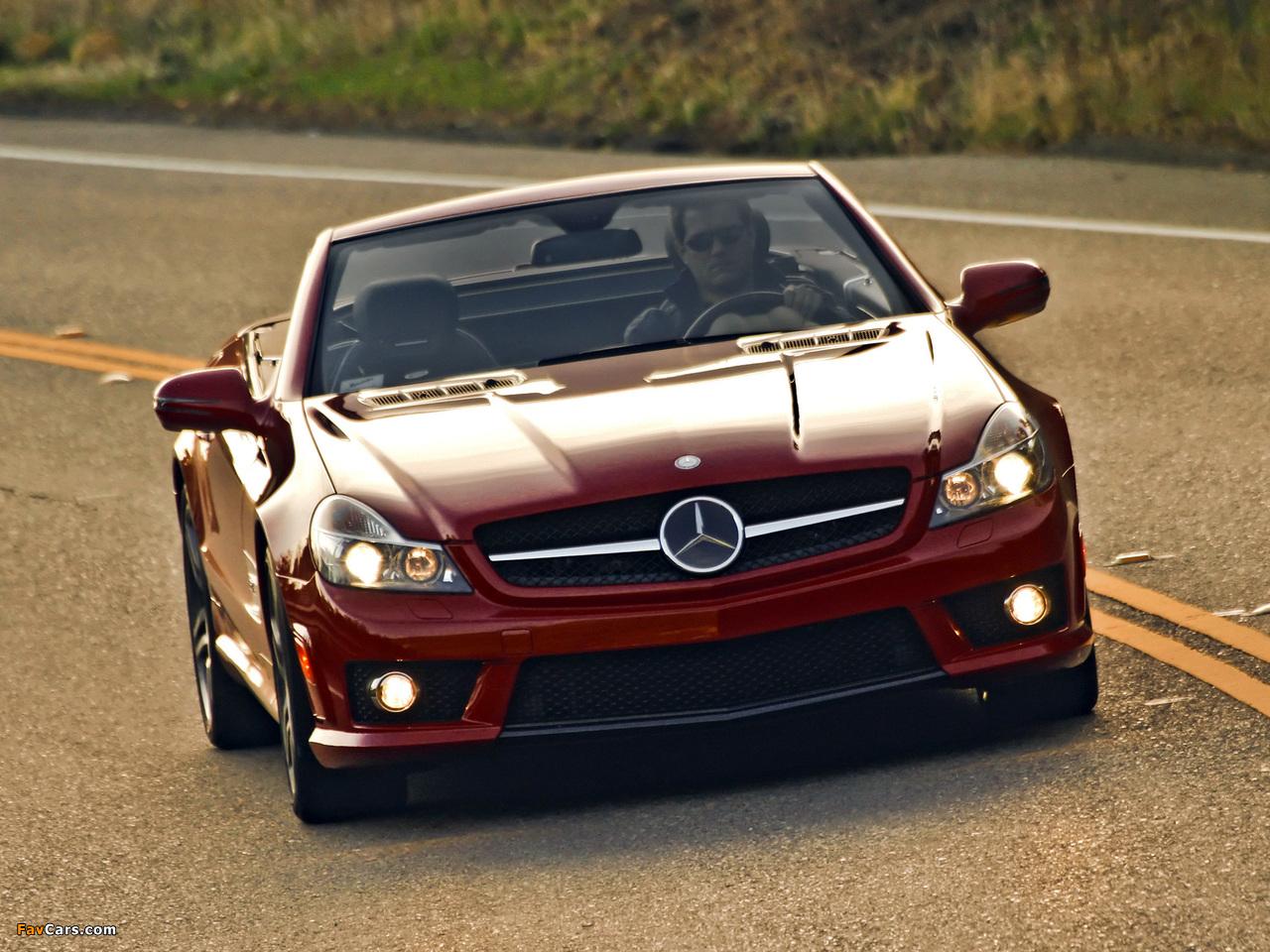 Photos of Mercedes-Benz SL 63 AMG US-spec (R230) 2008–11 (1280 x 960)