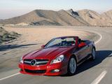 Photos of Mercedes-Benz SL 280 US-spec (R230) 2008–11