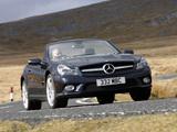 Photos of Mercedes-Benz SL 500 UK-spec (R230) 2008–11