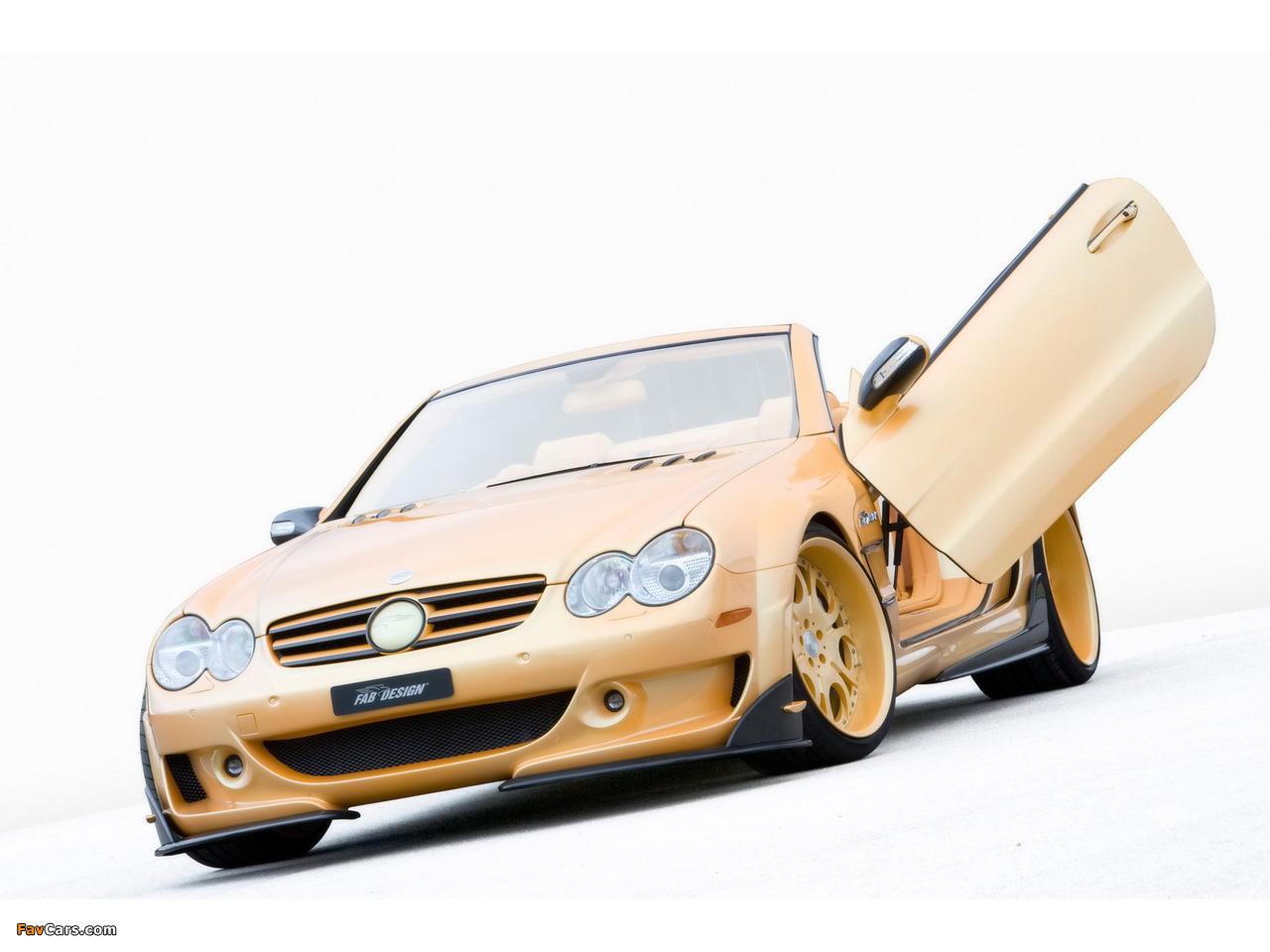 Photos of FAB Design Mercedes-Benz SL 600 Widebody (R230) 2008 (1280 x 960)