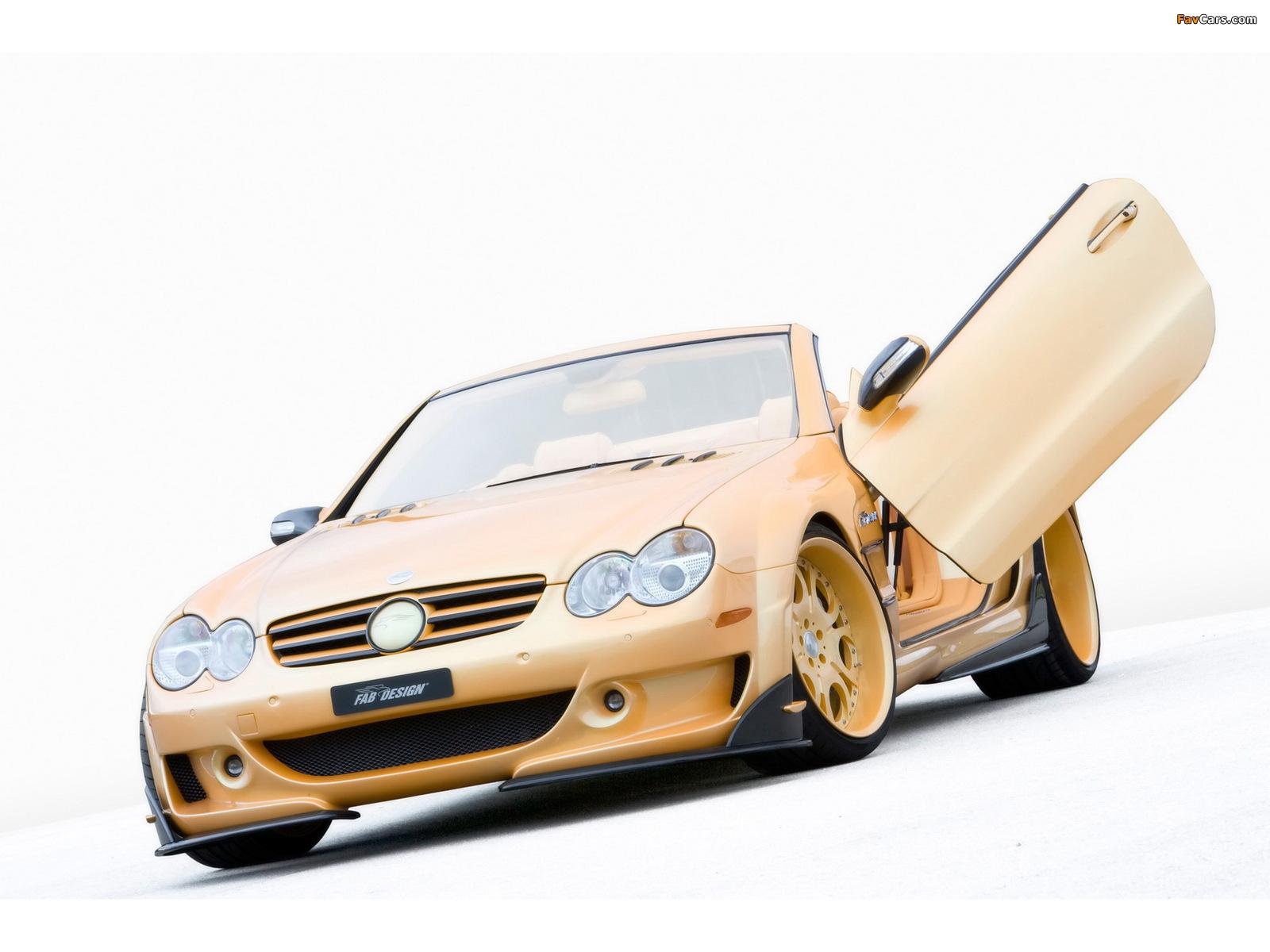 Photos of FAB Design Mercedes-Benz SL 600 Widebody (R230) 2008 (1600 x 1200)
