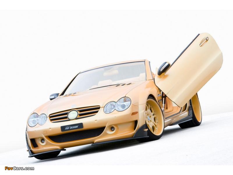 Photos of FAB Design Mercedes-Benz SL 600 Widebody (R230) 2008 (800 x 600)