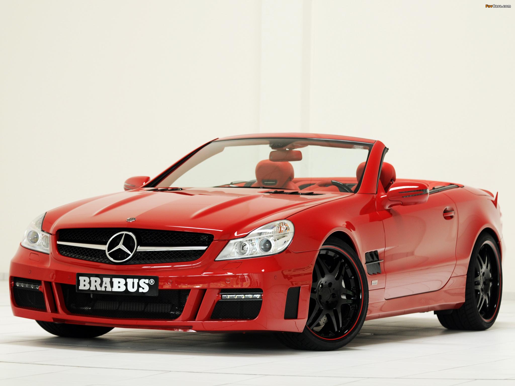 Photos of Brabus Mercedes-Benz SL-Klasse (R230) 2009–12 (2048 x 1536)