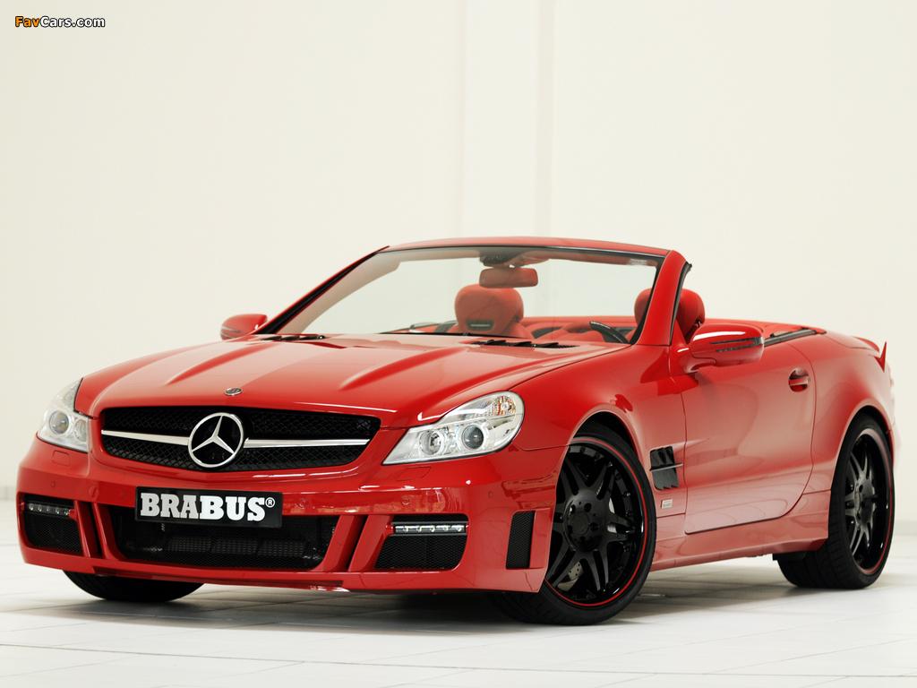 Photos of Brabus Mercedes-Benz SL-Klasse (R230) 2009–12 (1024 x 768)