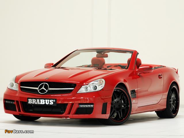 Photos of Brabus Mercedes-Benz SL-Klasse (R230) 2009–12 (640 x 480)