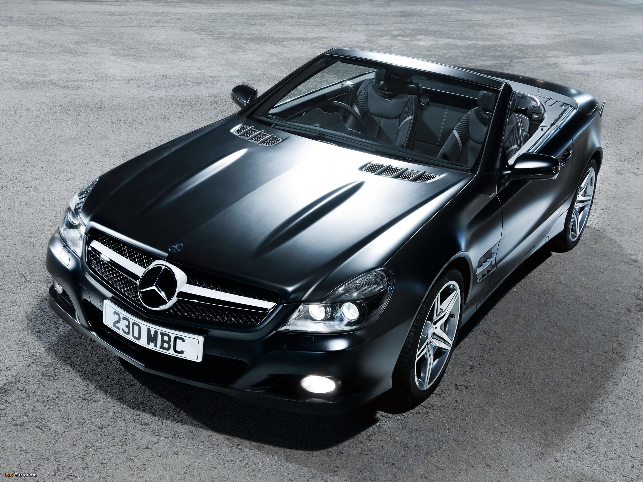 Photos of Mercedes-Benz SL 350 Night Edition UK-spec (R230) 2010–11 (2048 x 1536)