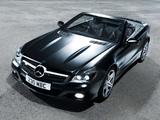 Photos of Mercedes-Benz SL 350 Night Edition UK-spec (R230) 2010–11