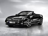 Photos of Mercedes-Benz SL-Klasse Night Edition (R230) 2010