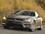 Photos of Mercedes-Benz SL 550 AMG Sports Package (R231) 2012