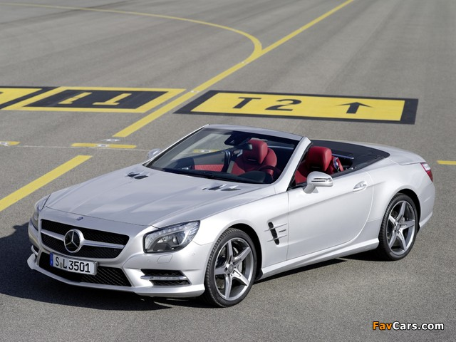 Photos of Mercedes-Benz SL 350 AMG Sports Package Edition 1 (R231) 2012 (640 x 480)
