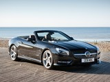 Photos of Mercedes-Benz SL 500 AMG Sports Package UK-spec (R231) 2012
