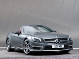 Photos of Mercedes-Benz SL 63 AMG UK-spec (R231) 2012