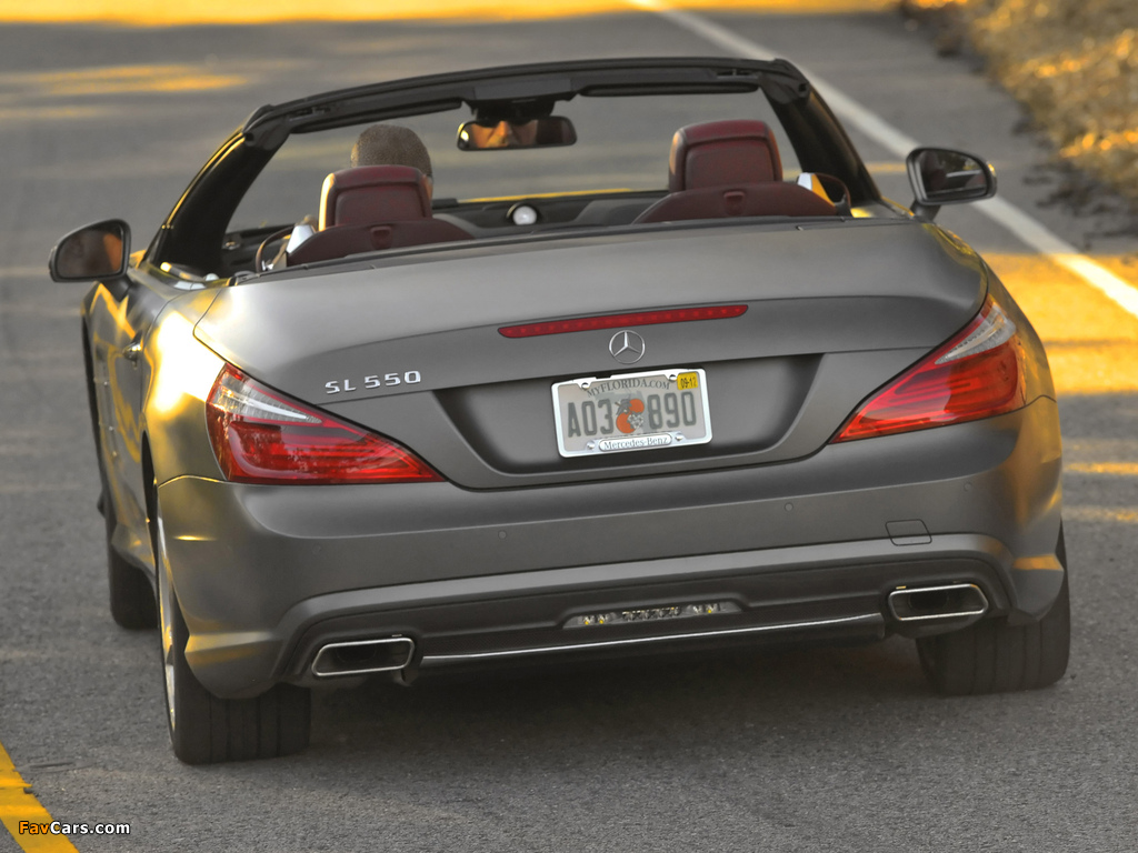 Photos of Mercedes-Benz SL 550 AMG Sports Package (R231) 2012 (1024 x 768)