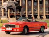 Photos of Lorinser Mercedes-Benz SL-Klasse (R107)