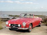 Pictures of Mercedes-Benz 190 SL UK-spec (R121) 1955–62
