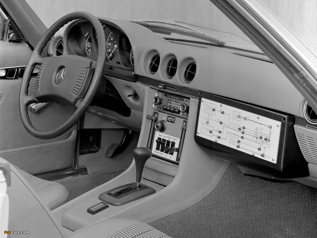 Pictures of Mercedes-Benz 450 SL Methanol Antrieb (R107) 1974 (1280 x 960)