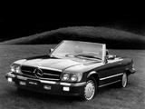 Pictures of Mercedes-Benz 560 SL US-spec (R107) 1985–89