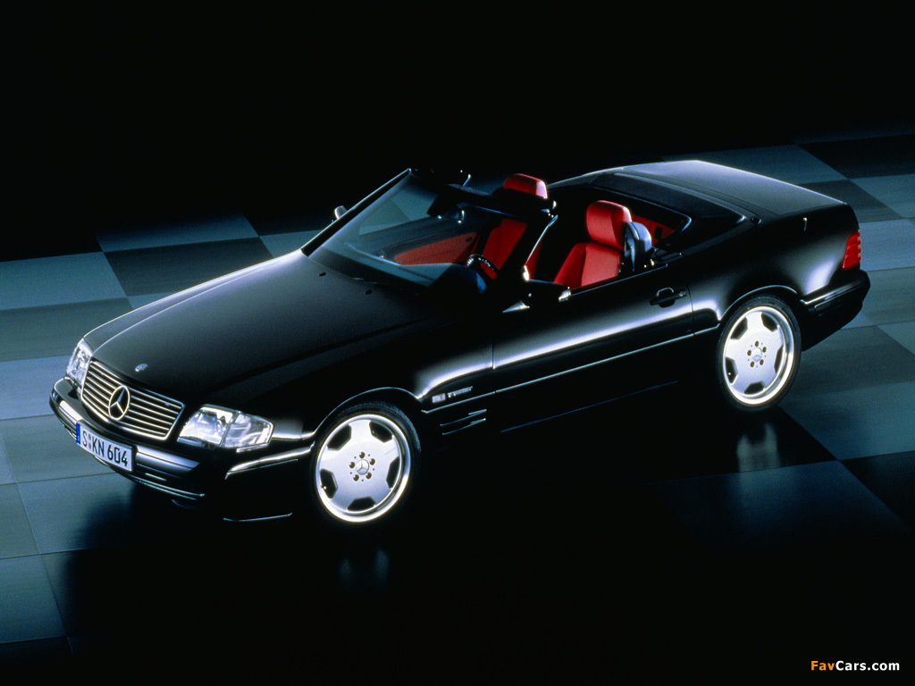 Pictures of Mercedes-Benz SL-Klasse Special Edition (R129) 1998 (1024 x 768)