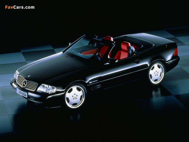 Pictures of Mercedes-Benz SL-Klasse Special Edition (R129) 1998 (640 x 480)