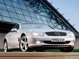 Pictures of Mercedes-Benz SL 500 UK-spec (R230) 2001–05
