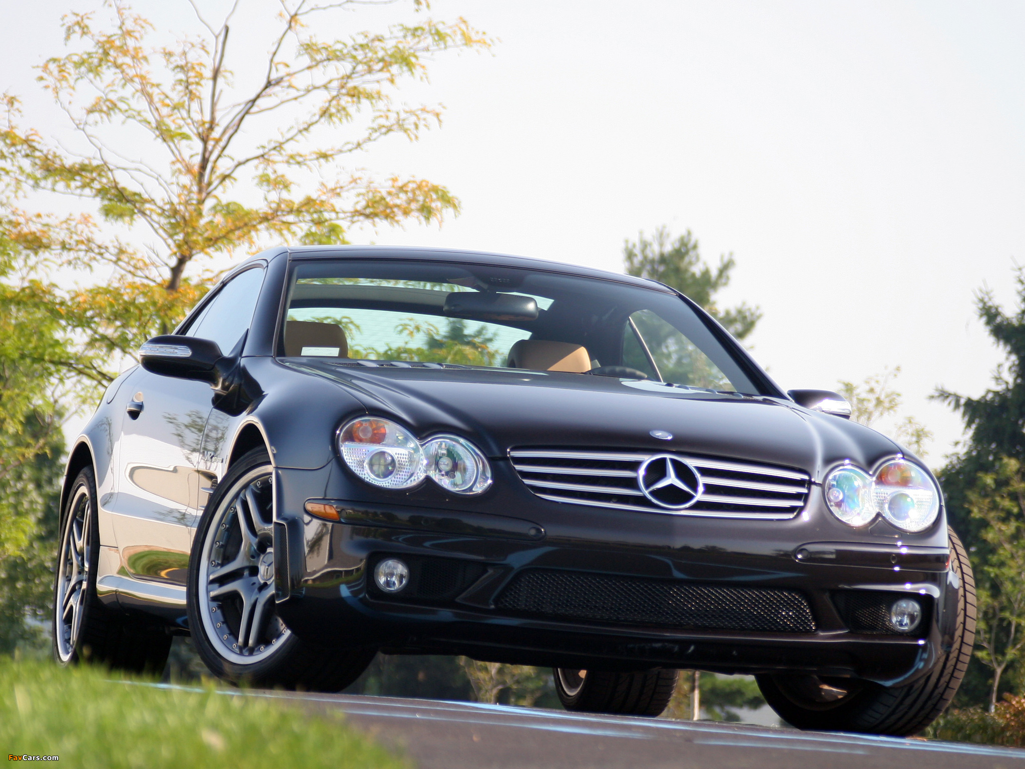 Pictures of Mercedes-Benz SL 65 AMG US-spec (R230) 2004–08 (2048 x 1536)