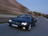 Pictures of Mercedes-Benz SL 350 (R230) 2005–08