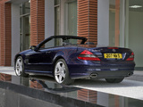 Pictures of Mercedes-Benz SL 500 Sports Package UK-spec (R230) 2005–08