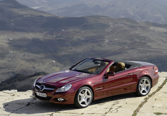 pictures of mercedes benz sl 500 r230 2008 11. Black Bedroom Furniture Sets. Home Design Ideas