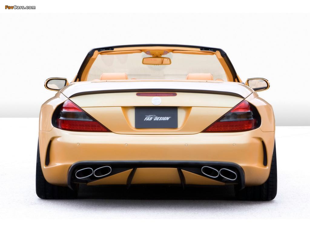 Pictures of FAB Design Mercedes-Benz SL 600 Widebody (R230) 2008 (1024 x 768)
