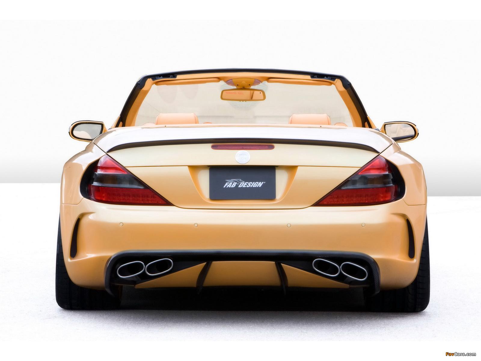 Pictures of FAB Design Mercedes-Benz SL 600 Widebody (R230) 2008 (1600 x 1200)