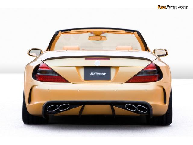 Pictures of FAB Design Mercedes-Benz SL 600 Widebody (R230) 2008 (640 x 480)