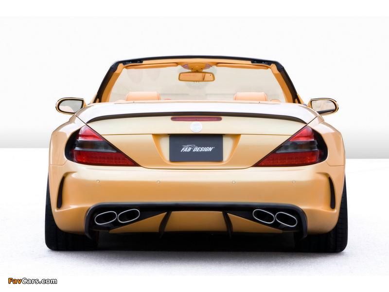 Pictures of FAB Design Mercedes-Benz SL 600 Widebody (R230) 2008 (800 x 600)