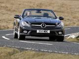 Pictures of Mercedes-Benz SL 500 UK-spec (R230) 2008–11