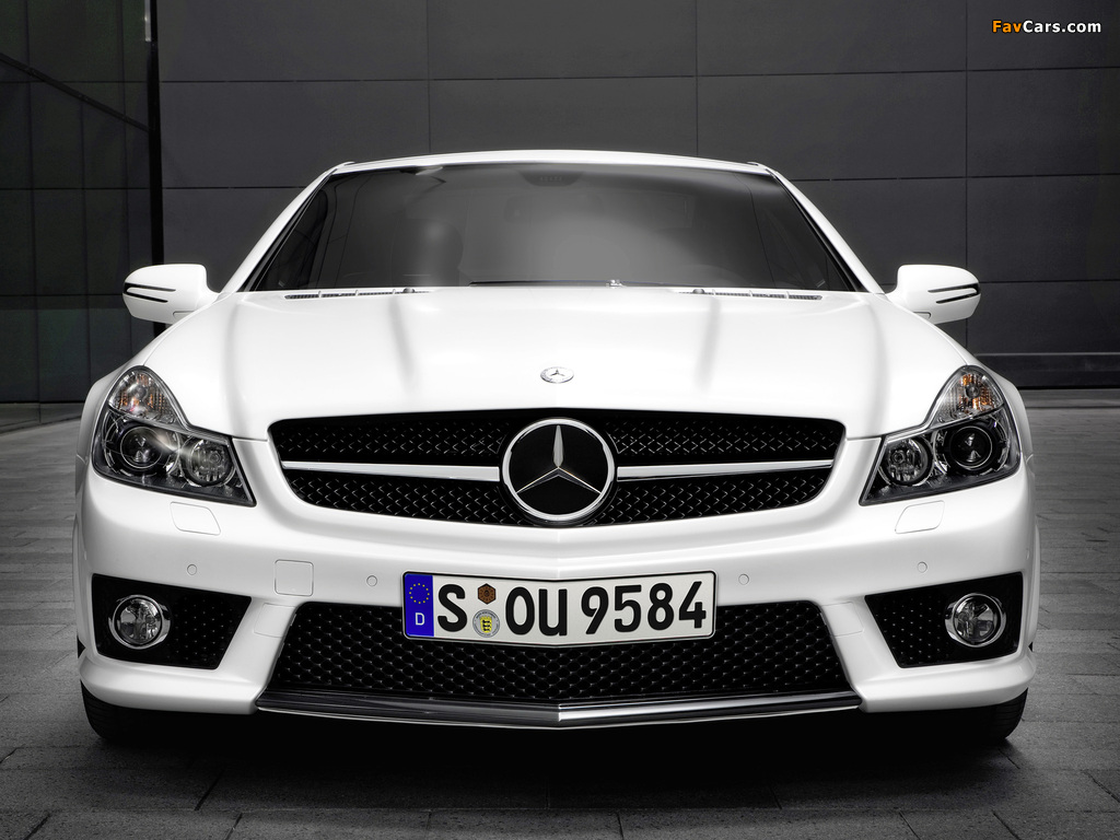 Pictures of Mercedes-Benz SL 63 AMG Limited Edition IWC (R230) 2008 (1024 x 768)