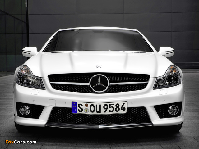 Pictures of Mercedes-Benz SL 63 AMG Limited Edition IWC (R230) 2008 (640 x 480)