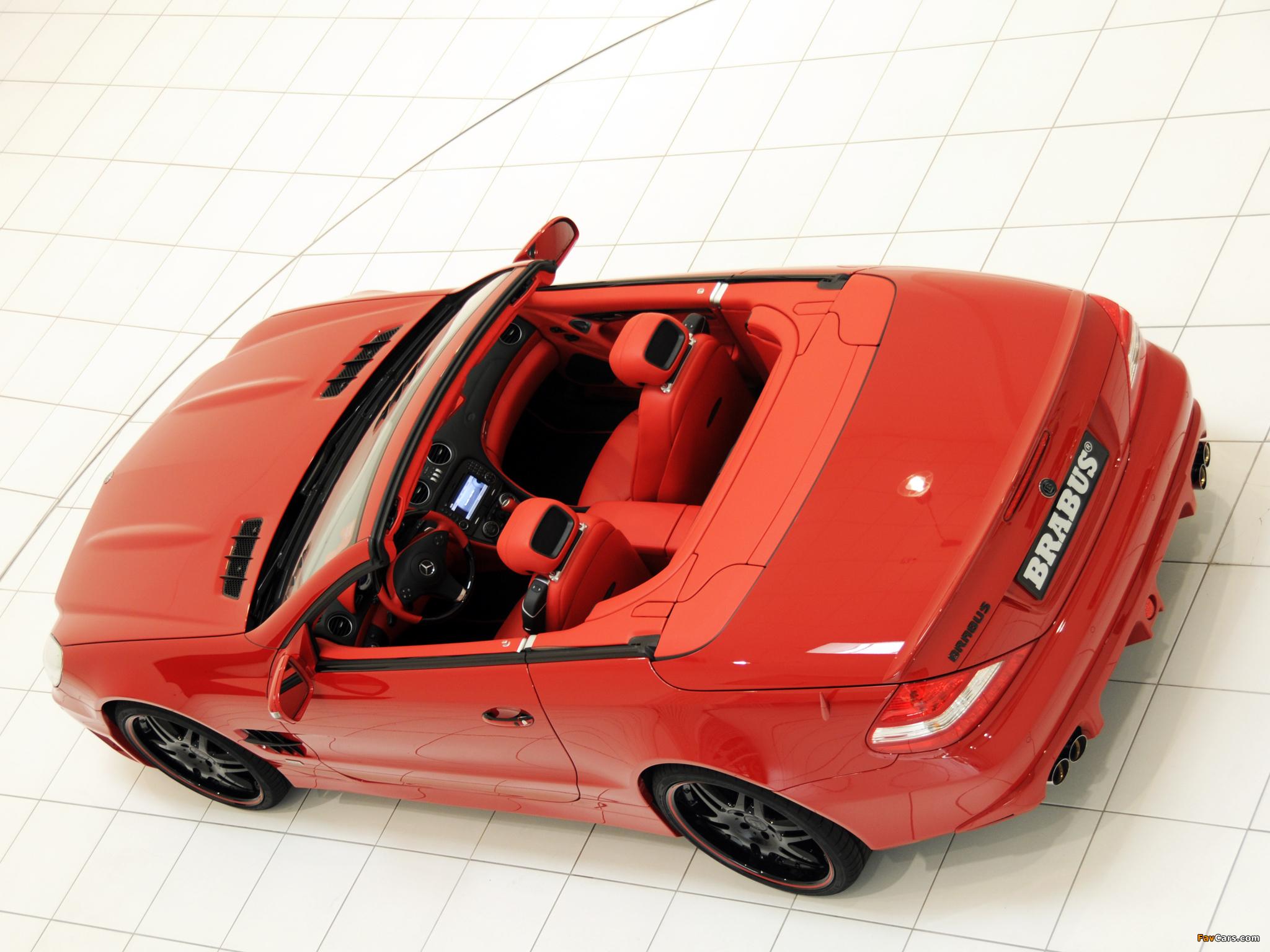 Pictures of Brabus Mercedes-Benz SL-Klasse (R230) 2009–12 (2048 x 1536)