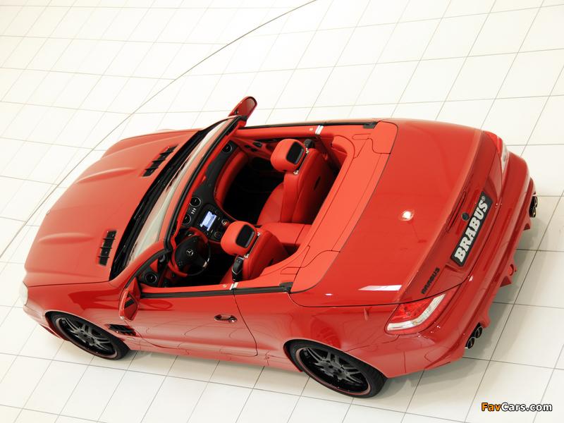 Pictures of Brabus Mercedes-Benz SL-Klasse (R230) 2009–12 (800 x 600)