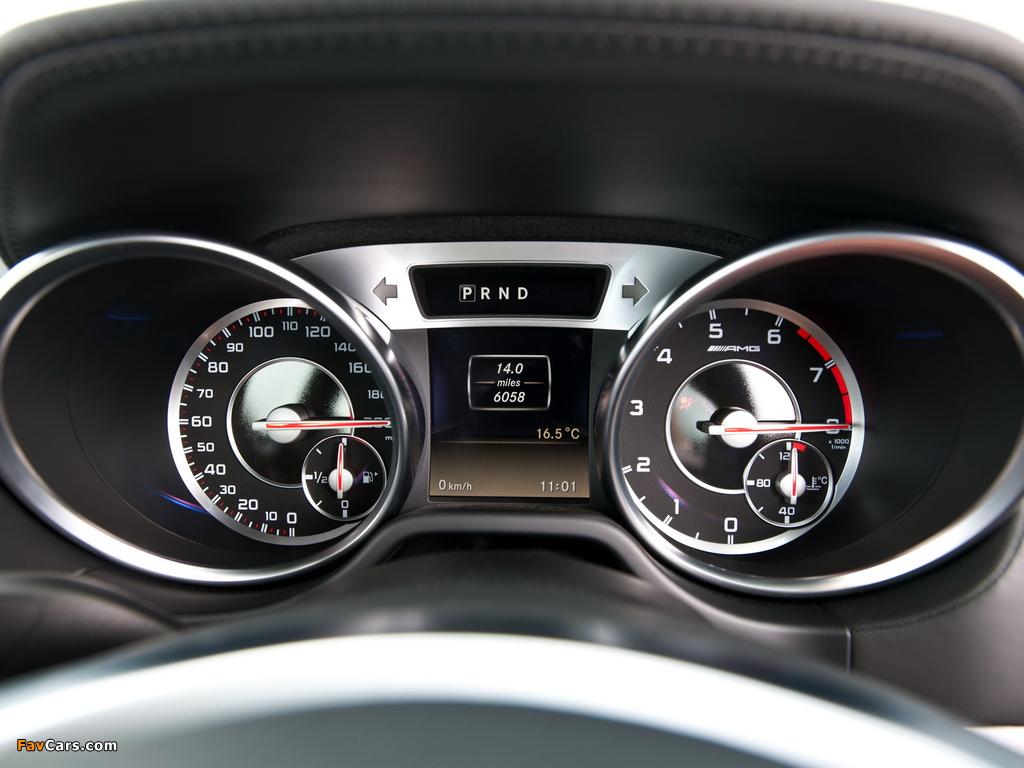 Pictures of Mercedes-Benz SL 63 AMG UK-spec (R231) 2012 (1024 x 768)