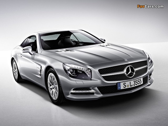 Pictures of Mercedes-Benz SL 350 (R231) 2012 (640 x 480)