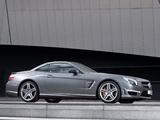 Pictures of Mercedes-Benz SL 63 AMG UK-spec (R231) 2012