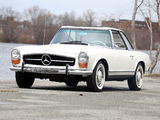 Mercedes-Benz 230 SL US-spec (W113) 1963–67 wallpapers