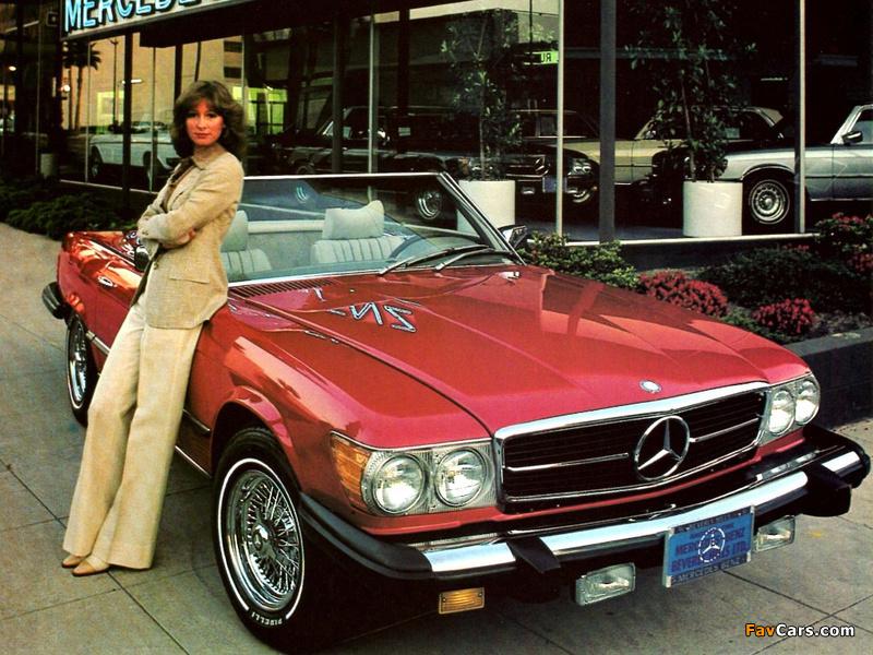Mercedes benz 380 sl us spec r107 1980 85 wallpapers for 85 mercedes benz